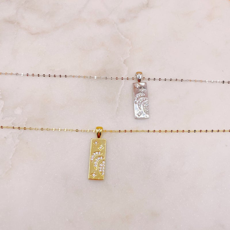 BB Lila Map Of The Stars Necklace