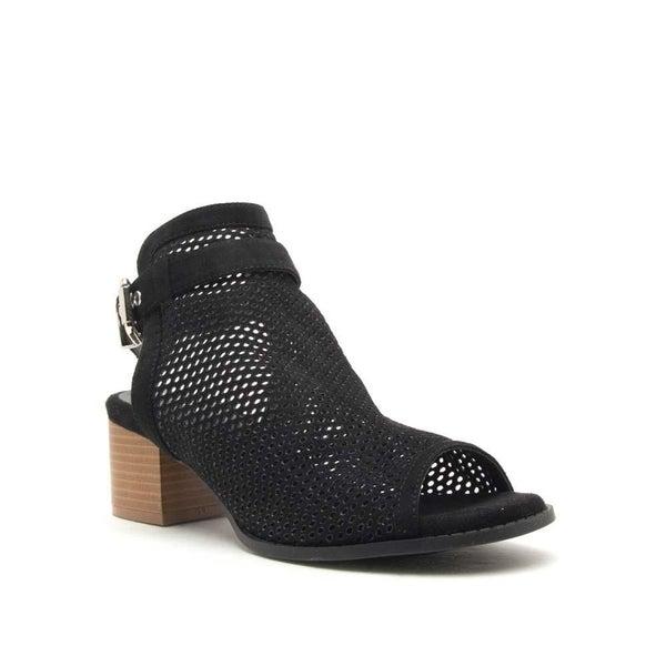 Perforated Mule Sandal