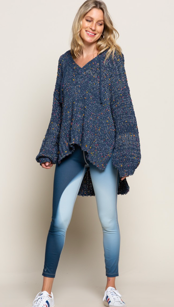 The Lenora Sweater - 2 Colors!