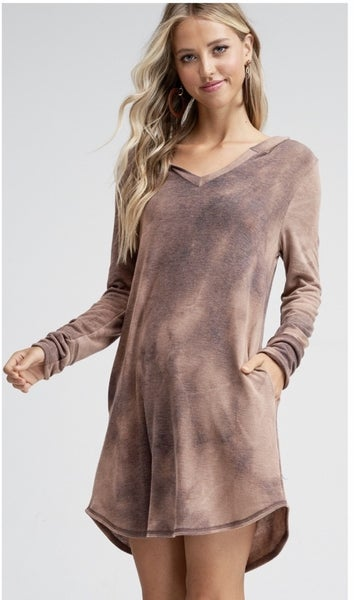 Into The Milkyway Hooded Dress