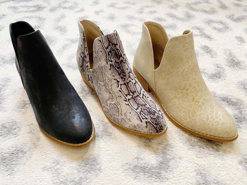 Corky's Wayland Booties - 3 Colors!
