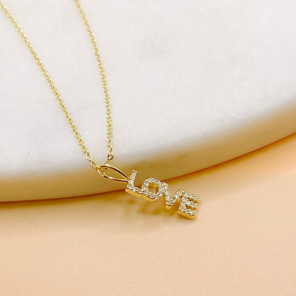 BB Lila Say You Love Me Necklace