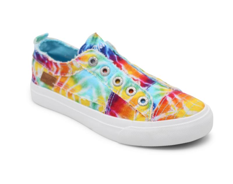 Adult Blowfish Tye Dye Sneaker