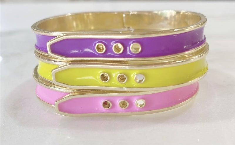 Melania Clara Kenny Bracelet Gold - 3 Colors
