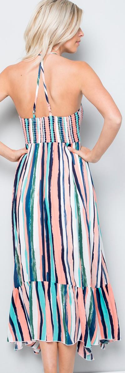 Earning Her Stripes Dress