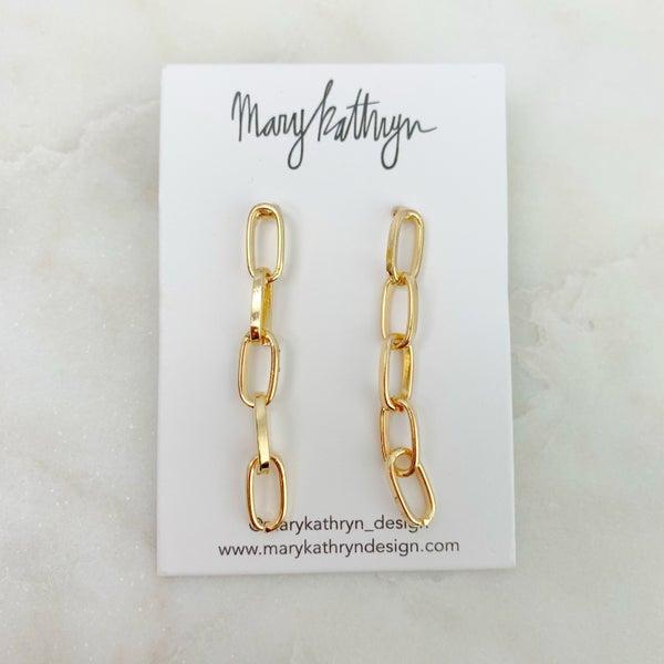 Mary Kathryn Chain Earrings