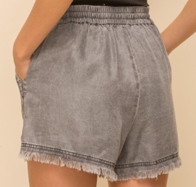 Lucky You Denim Shorts - 2 Colors!