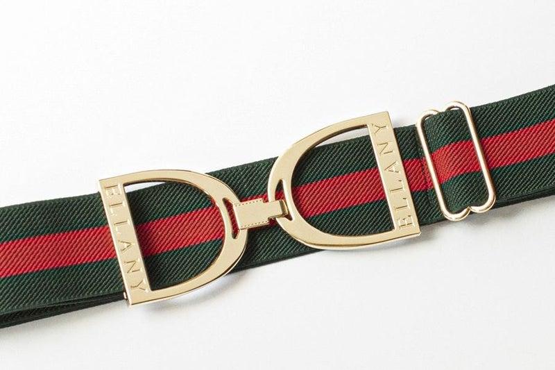 "1.5"" Gold Stirrup Elastic Belt - 2 Colors!"