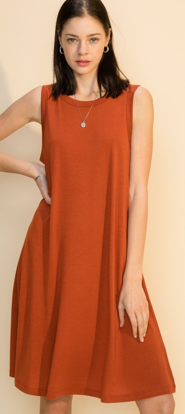 Growth And Value Dress- 2 Colors!