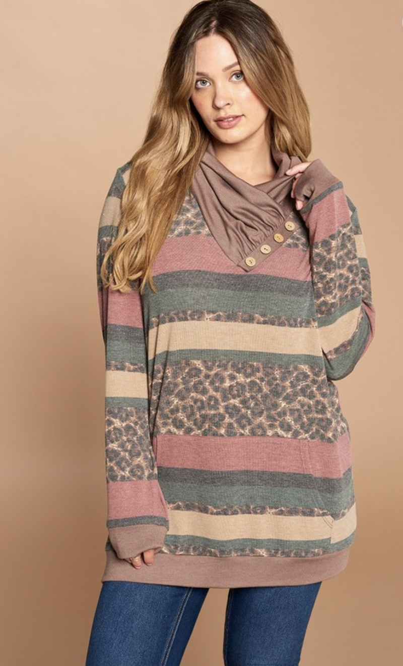 Indecisive Decisions Loose-Fit Top