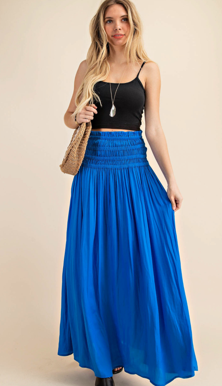 Sway Your Hips Maxi Skirt- 2 Colors!