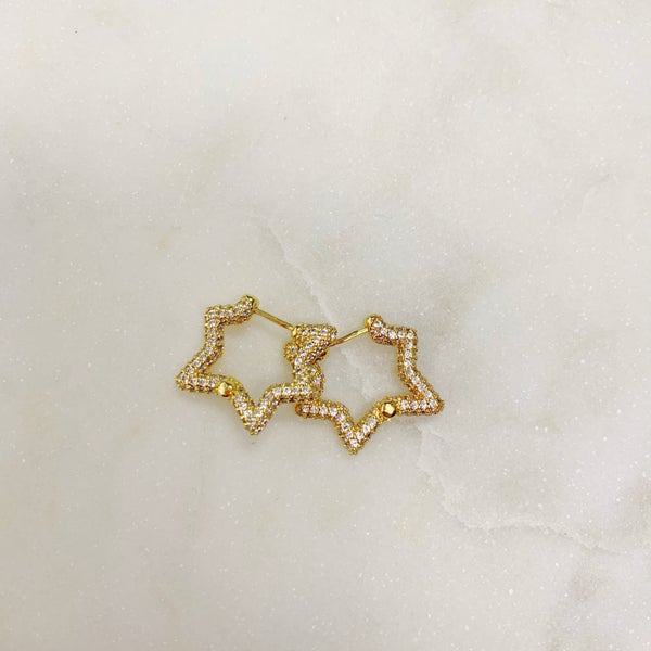 Love Poppy Tegan Star Earrings