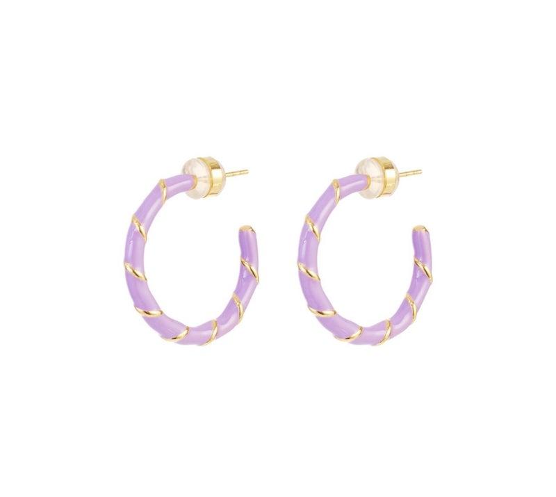 Melania Clara Lulu Earrings Gold - 3 Colors