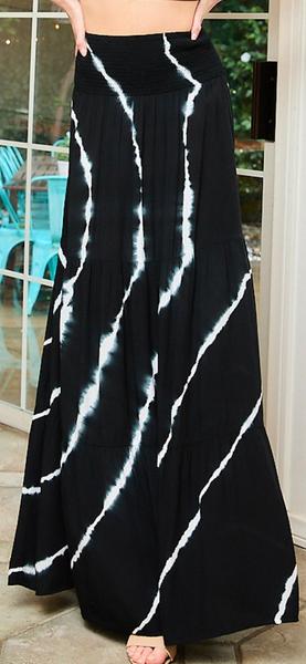 So Electrifying Maxi Skirt