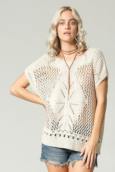 EVERYTHING TO LOVE KNIT TOP