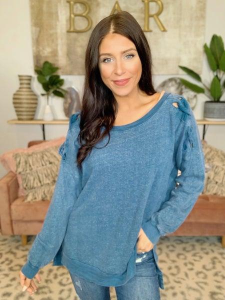 Blue Moon Sweater