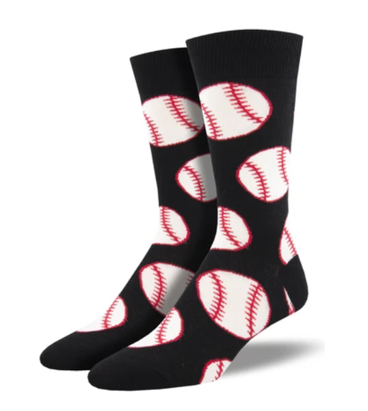 Out To The Ballgame Socks