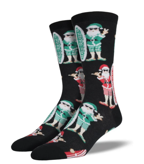 Surf Santa Socks