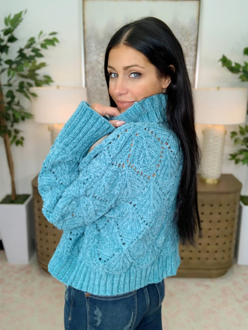 Cozy Time Sweater - 2 Colors!