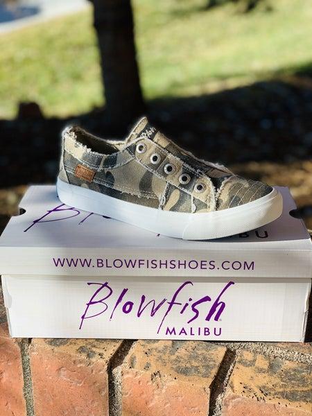 Blowfish Low Top Camo Sneakers