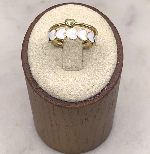 By Alexa Rae Milani Ring Set Gold - 3 Colors!