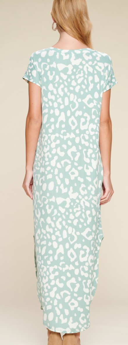 Sprint To The Print Dress - 2 Colors!