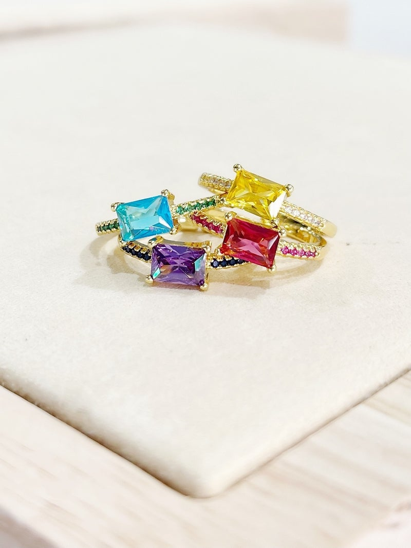By Alexa Rae Jessie Ring - 4 Colors!