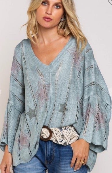 Fading Stars Sweater- 2 Colors!