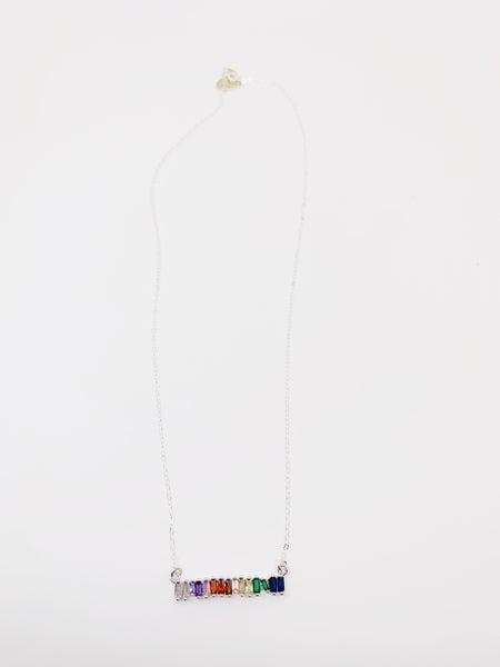 Kaleidoscope Necklace - Gold & Silver