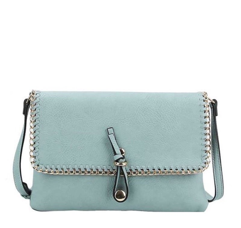 Perfectly Chained Crossbody Clutch