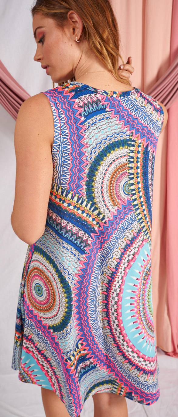 Cultural Abstract Dress