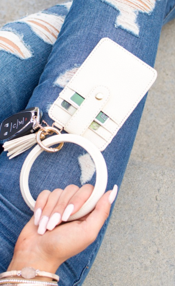 Key Ring Bracelet - 10 Colors!