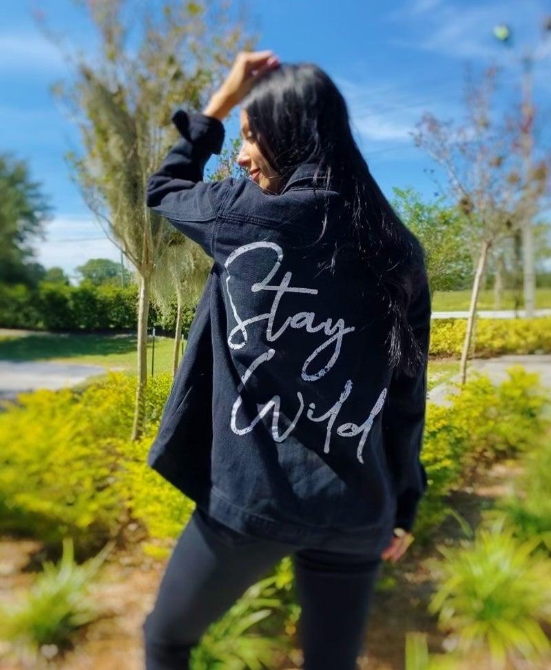 Stay Wild Denim Jacket
