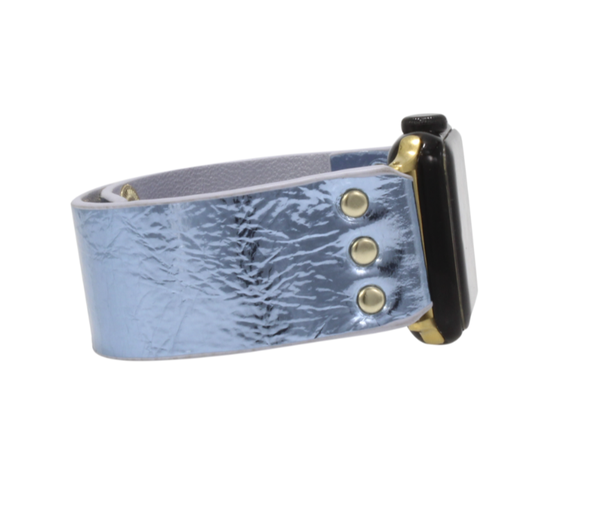 Erimish Leather Ice Apple Watch Band - 3 Colors!