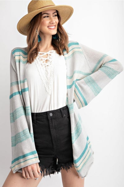 OCEAN BREEZE KNITTED SWEATER