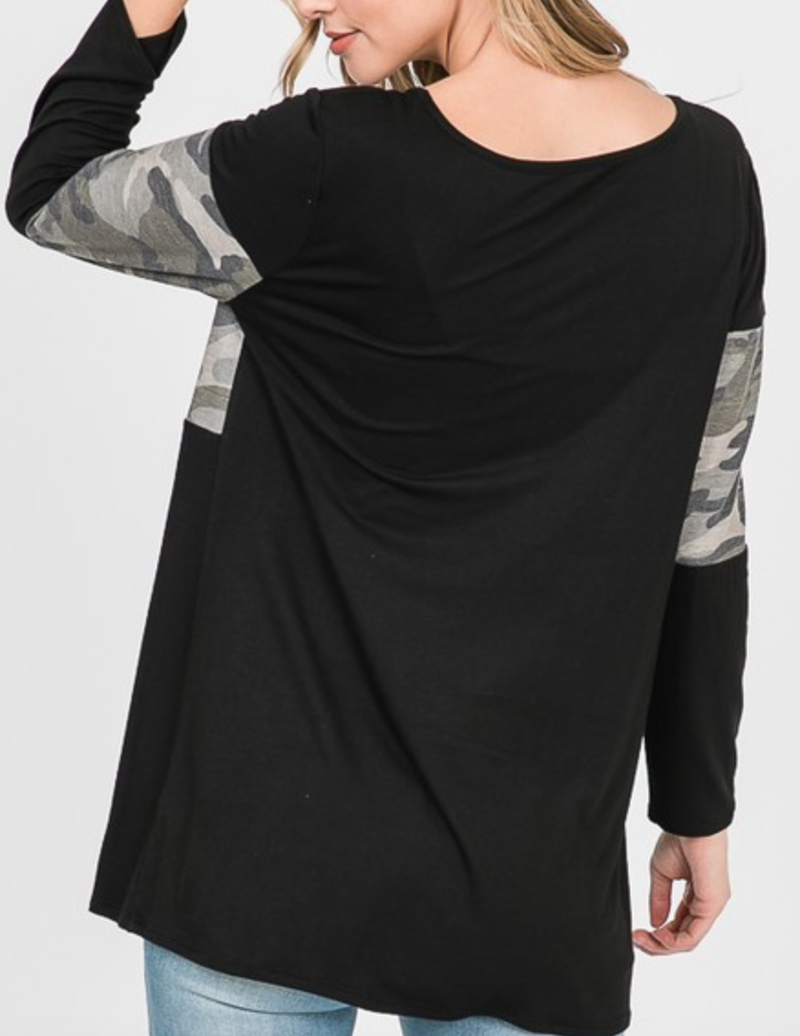 Touch Of Toughness Long Sleeve Top