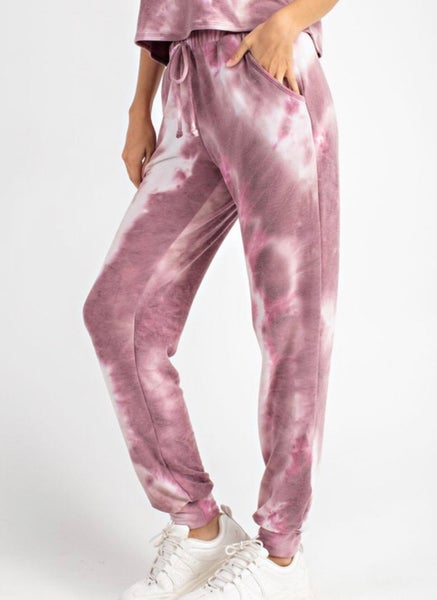 Comfy and Chic Joggers - Pink