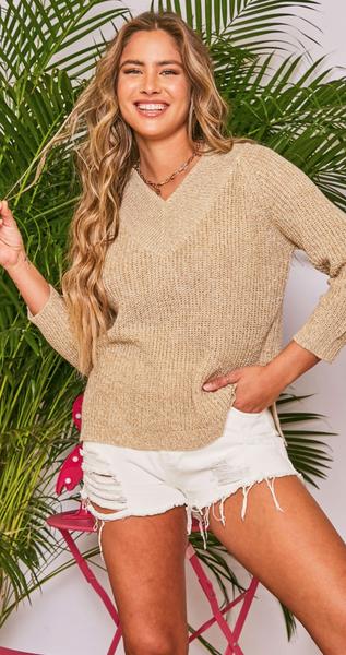 Weekend Countdown Sweater - 2 Colors!