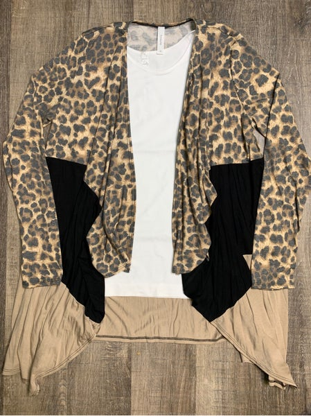 You And Me Leopard Cardigan