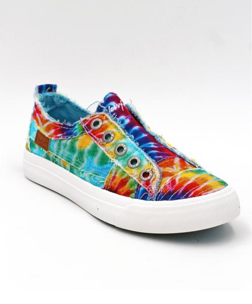 Kids Blowfish Tye Dye Sneaker