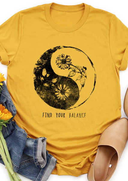Find Your Balance Tee