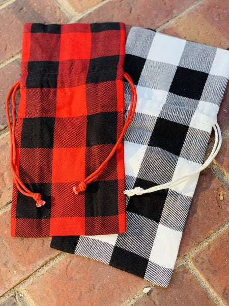 Holiday Wine Bags - 2 Colors!