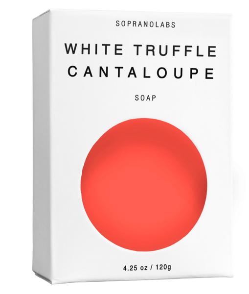 White Truffle Cantaloupe Soap