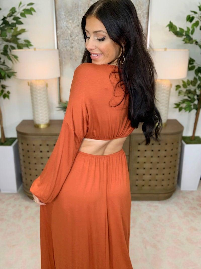 Maximized Design Maxi Dress