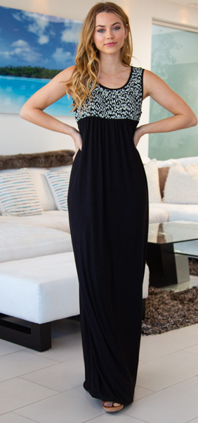 Elegant And Sassy Maxi Dress