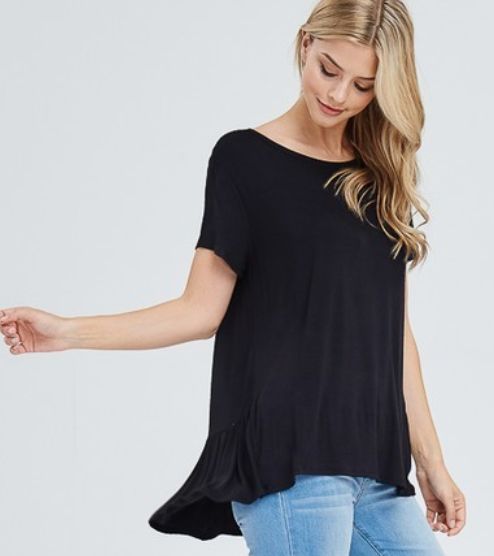 Go With The Flow Tee - 3 Colors!