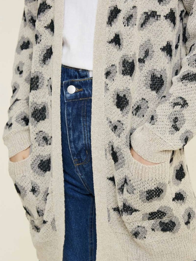 Dare To Be Wild Cardigan - 2 Colors!