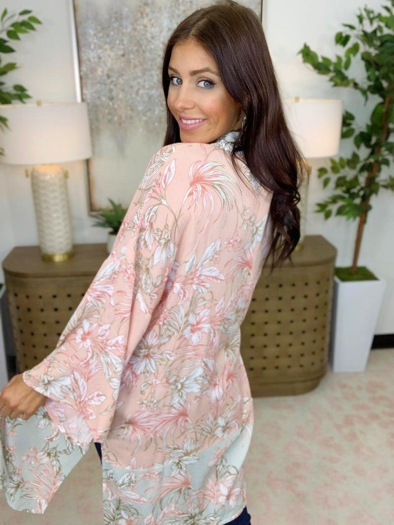 Covered By Faith Kimono