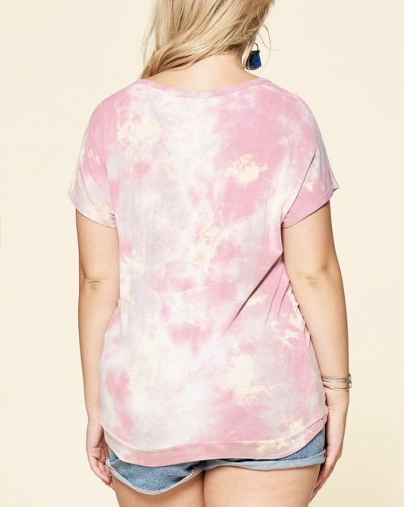 Take Me To Paradise Tie Dye Top