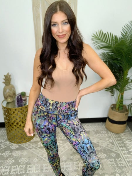 Psychedelic Serpent Leggings